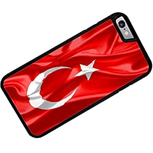 Rubber Case for iPhone 6 Plus Turkey 3D Flag - Neonblond
