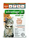 Advantage II For Small Cats 5-9 lbs by Bayer 12 Month Supply