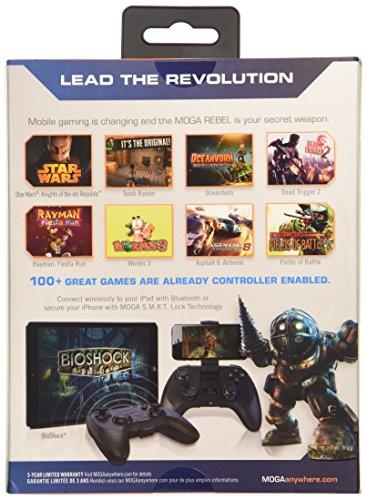 MOGA Rebel Premium iOS Gaming Controller - iPhone/iPad/iPod (Mac) by MOGA (Image #2)