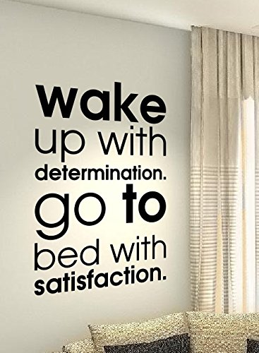 Wake Up With Determination Go To Bed With Satisfaction Crossfit