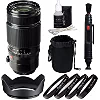 Fujifilm XF 50-140mm f/2.8 R LM OIS WR Lens + 72mm +1 +2 +4 +10 Close-Up Macro Filter Set with Pouch Bundle 4