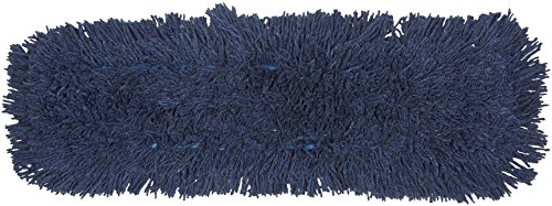 (AmazonBasics Dust Mop Head Replacement, Blend Yarn, 24 Inch, 6-Pack)