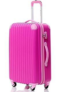 ROSE VINTAGE NAVY BLUE & PINK LARGE 28 SUITCASE LUGGAGE CASE 4 ...