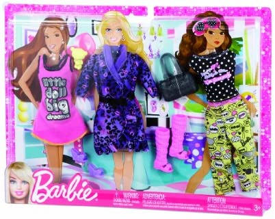 good texture new high quality big discount Barbie Mattel - X7858 - Accessoire Poupée 3 Tenues du Soir ...