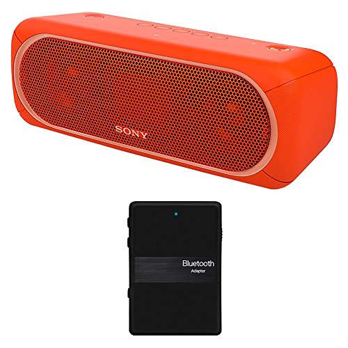Sony XB40 Portable Wireless Speaker with Bluetooth, Red - SR