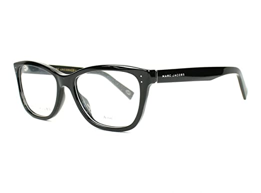 59ba06b90b98e Image Unavailable. Image not available for. Color  Marc Jacobs Marc 123  0807 Black Eyeglasses