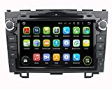 8 Inch Touch screen Android 5.1.1 Lollipop OS Quad Core 1.6G CPU 16G Flash 1024x600 Car GPS Navigation DVD Player for Honda CRV 2006 2007 2008 2009 2010 2011
