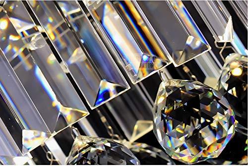 Plafoniera Per Sala Da Pranzo : Moderno cristallo trasparente goccia di pioggia lampadario