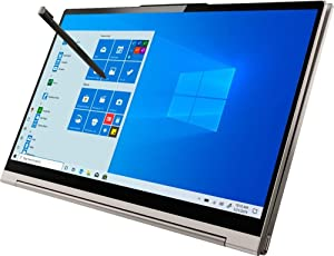 "Lenovo Yoga C940 2-in-1 14"" 4K Ultra HD Touch-Screen Laptop - i7-1065G7, RGB Backlit Keyboard, Webcam, WiFi 6, IPS, Alexa, USB-C, Thunderbolt 3, IntelIris Plus, Win 10 (16GB RAM 