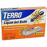 TERRO T300 Liquid Ant Bait Ant Killer  6 bait stations