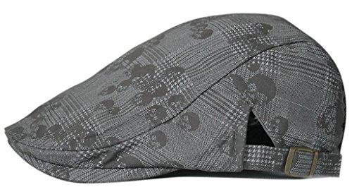 Gumstyle FASHION Men Womens Duckbill Ivy Cap Golf Driving Flat Cabbie Newsboy Beret Hat ()