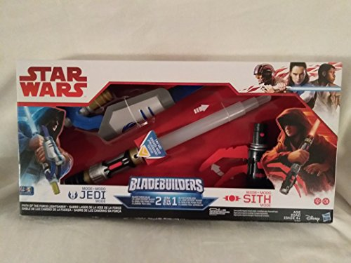 - Disney Star Wars Bladebuilders Path Of The Force Lightsabre Electronic Sword With Sound 2 In 1 Blade Turns Blue Blade Turns Red Jedi Mode And Sith Mode Ages 4+ New In Unopened Box