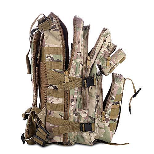 SHANNA Militaire Sac À Dos, Sac À Dos Tactique 35L Armée Sac À Dos Molle Assaut Pack Tactique Combat Sac À Dos pour… 3