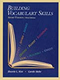 Building Vocabulary Skills, Short Version, Sherrie L. Nist and Carole Mohr, 0944210155