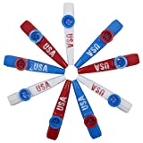 USA Kazoos- 9 Pack - Made in USA For 20 Years - Sold by Vets