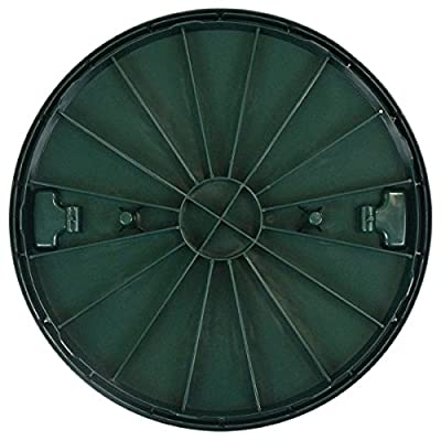 Polylok 3008-RC Septic Tank Riser Cover, 24-Inch, Green