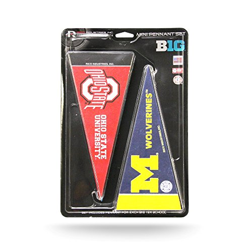 (Rico College Big 10 Mini Pennant)