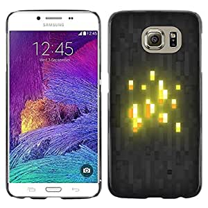 Impact Case Cover with Art Pattern Designs FOR Samsung Galaxy S6 Glowing Blocks Betty shop