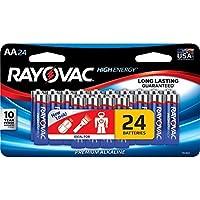 RVC81524LTJ - Ray-o-vac RAYOVAC 815-24LTJ AA Alkaline Batteries (24 pk)