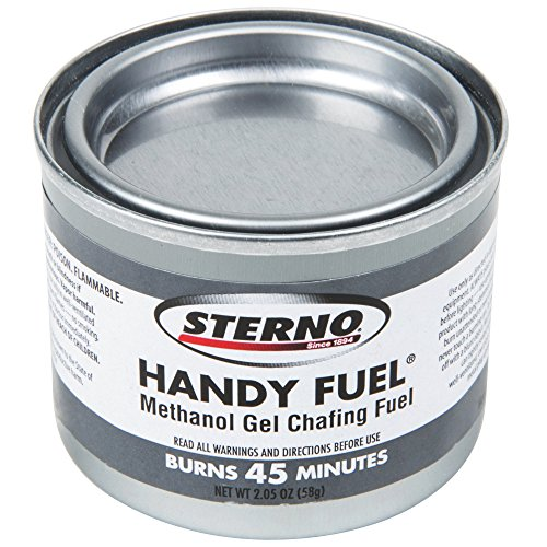 Sterno Products 20100 45 Minute Handy Fuel Methanol Gel Chafing Fuel - 144/Case