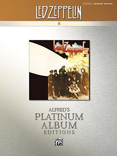 Led Zeppelin - II Platinum Album Edition: Drum Set Transcriptions (Alfred's Platinum Album Editions)