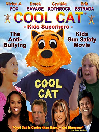 Super Cool Movie - Cool Cat Kids Superhero