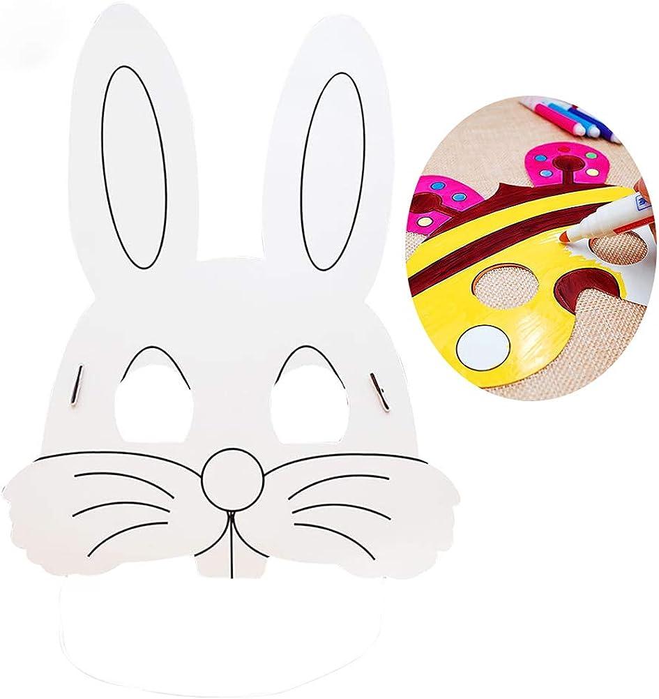 Amazon.com: Vankcp - 16 máscaras para niños, diseño de ...