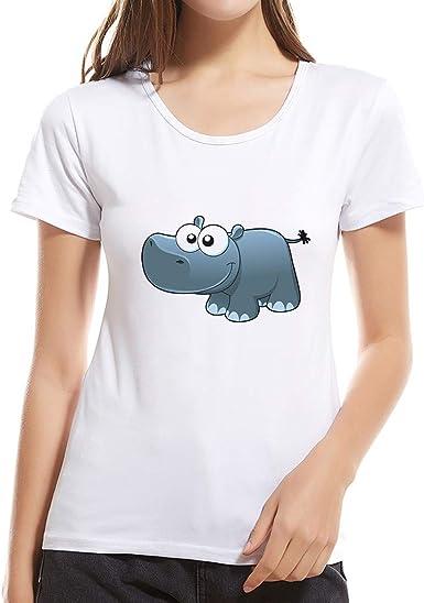 MEIbax Camiseta Simple de Mujer Manga Corta Impresa Moda Niña La Madre Padre-Hijo - Mama seccion Tops Casuales y cómodos de Las señoras Verano Debe Camiseta Blanca de Mujer Blusa Mujer Camisa: