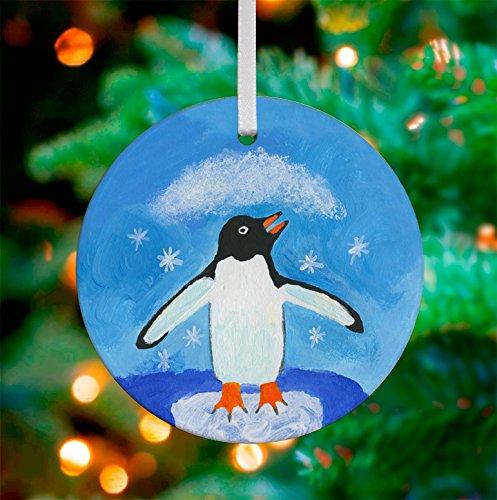 Oopsy Daisy Keepsake Ornament, Snowflake Penguin, 3
