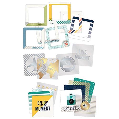 [해외]American Crafts Atlas Instagram Cards (24 Pack) 4 by 4 / American Crafts Atlas Instagram Cards (24 Pack), 4 by 4