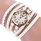 Womens Bracelet Watches,Windoson Lady Watches Female Watches Watches for Women (White)
