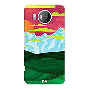 DailyObjects Back Home Case For Microsoft Lumia 950 XL