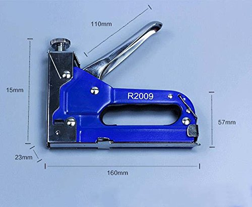 3-in-1 Nail Staple Gun with staples Kit Puller Manual Carbon Steel Heavy Duty Nail for Wood Door Upholstery Framing