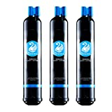 water filter 4396711 - Swan Filter  Whrilpool 4396841, 4396710, Kenmore 9030, 9083, Pur Filter3 Compatible Mist Premium Refrigerator Water Filter (3-pack)