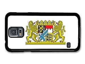 AMAF ? Accessories Bavarian Flag Bavaria Coat Of Arms Flagge Bayern case for Samsung Galaxy S5 wangjiang maoyi by lolosakes