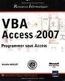 VBA Access 2007 - Programmer sous Access
