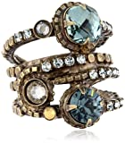 "Sorrelli  ""After Glow"" Stacked Crystal Ring"