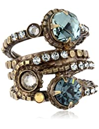 Sorrelli Stacked Crystal Ring