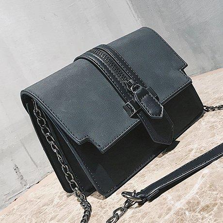 OME&QIUMEI Bolsa Pequeña Cadena Hembra Pequeño Bolso Bolso Bolso Messenger,Gules black