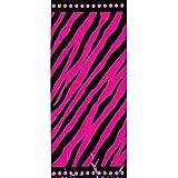 Amazoncom 8Count Party Loot Bags Pink Zebra Boutique Kitchen
