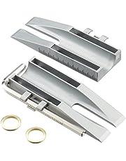 Türen Clou - Einhänge-Hilfe für Zimmertüren in Scharnier  inkl. 2 Fitschenringe (Unterlegscheiben/Distanzscheiben/Distanzringe)