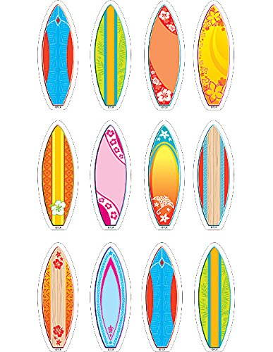 Teacher Created Resources Surfboards Mini Accents (5537) -