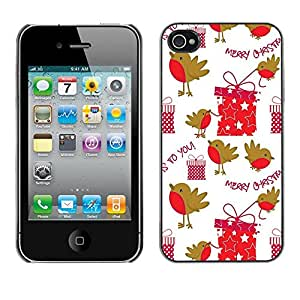 Dragon Case - FOR iPhone 4 / 4S - Christmas gift - Caja protectora de pl??stico duro de la cubierta Dise?¡Ào Slim Fit
