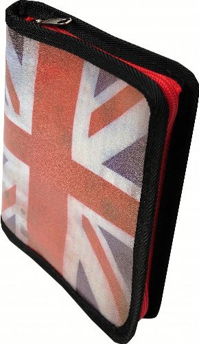 [해외]Exacompta 16111E Pocket photo album 24 photos Union Jack - 13x185cm / Exacompta 16111E Pocket photo album 24 photos Union Jack - 13x18,5cm