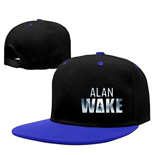 [Custom Unisex-Adult Action-adventure Video Game Flat Bill Baseball Caps Hat RoyalBlue] (Alan Wake Costume)