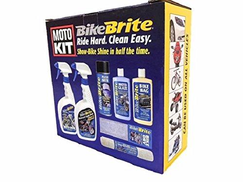 Bike Brite MC10000 Motorcycle Detailing Kit, 67 fl. oz.