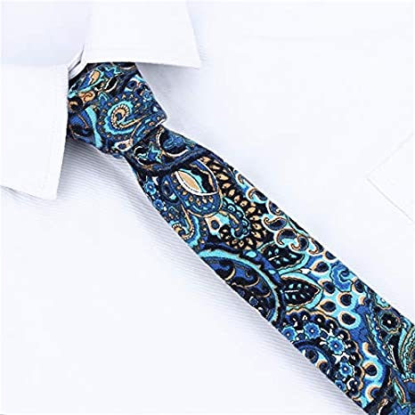 SHIJING Pulgadas de Hombre Delgado Corbatas Corbata de Gravata ...