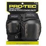 Pro-Tec Street Knee and Elbow Pad Set, L
