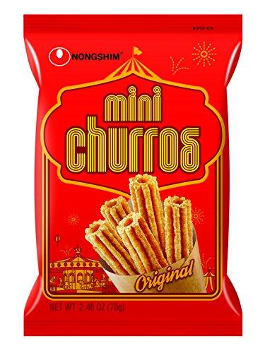 NongShim Snack Mini Churros, 2.46 Ounce (Pack of 12) (Best Frozen Custard In America)