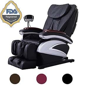 Amazoncom Electric Full Body Shiatsu Massage Chair Recliner w